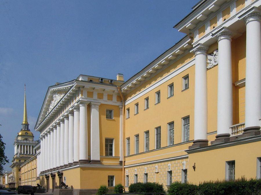 Фото здания Адмиралтейства в Санкт-Петербурге