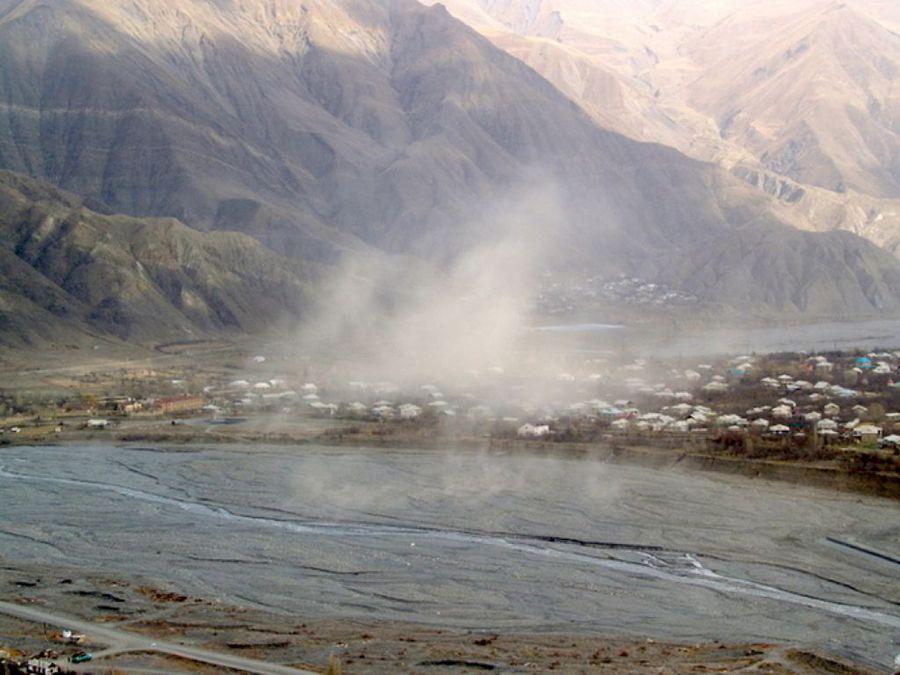 Ахтынские минеральные источники фотография