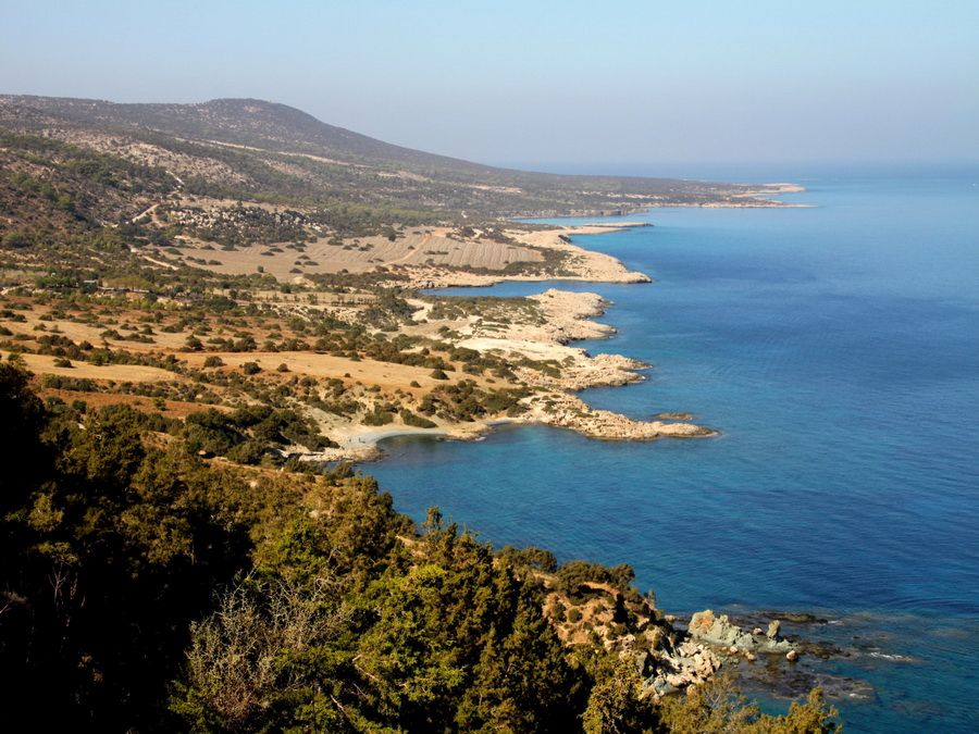 Фотография полуострова Акамас на Кипре