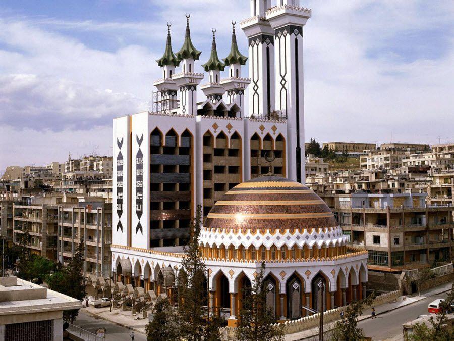 Мечеть Аль Рахман в Алеппо фото