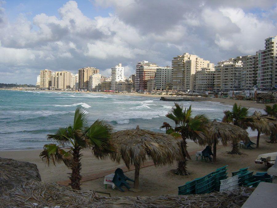 Фотография пляжа в Александрии