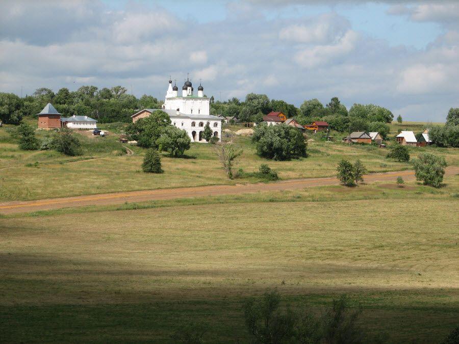 Панорама Анастасова монастыря фото