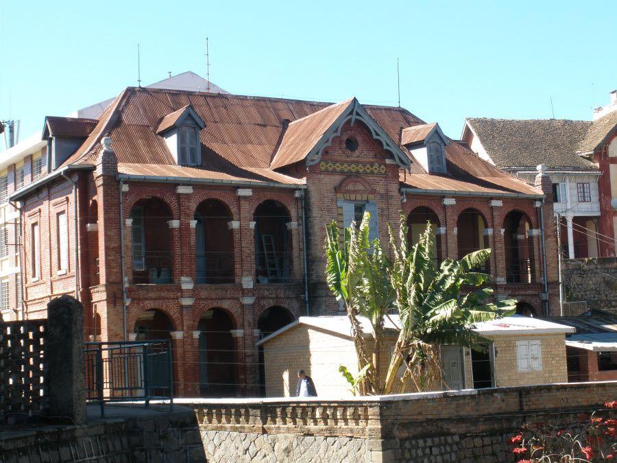 Фото замка Фанси в столице Антананариву