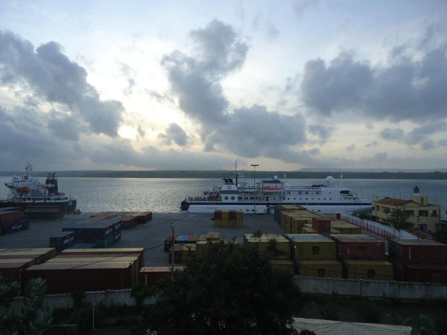 Фото города Анциранана в Мадагаскаре