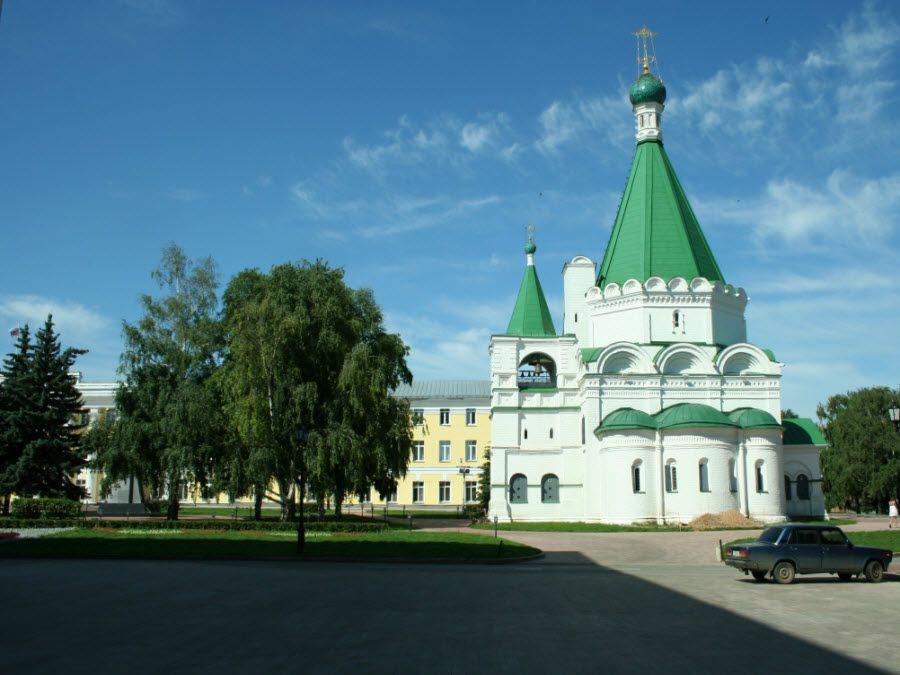 Фото Михайло-Архангельский кремлевский собор в Нижнем Новгороде