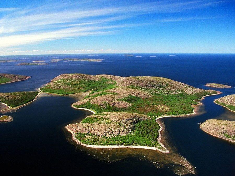 Фотография архипелага Кузова вид сверху