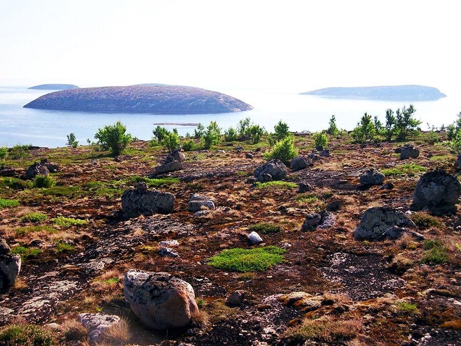 Фотография Немецкого острова в архипелаге Кузова
