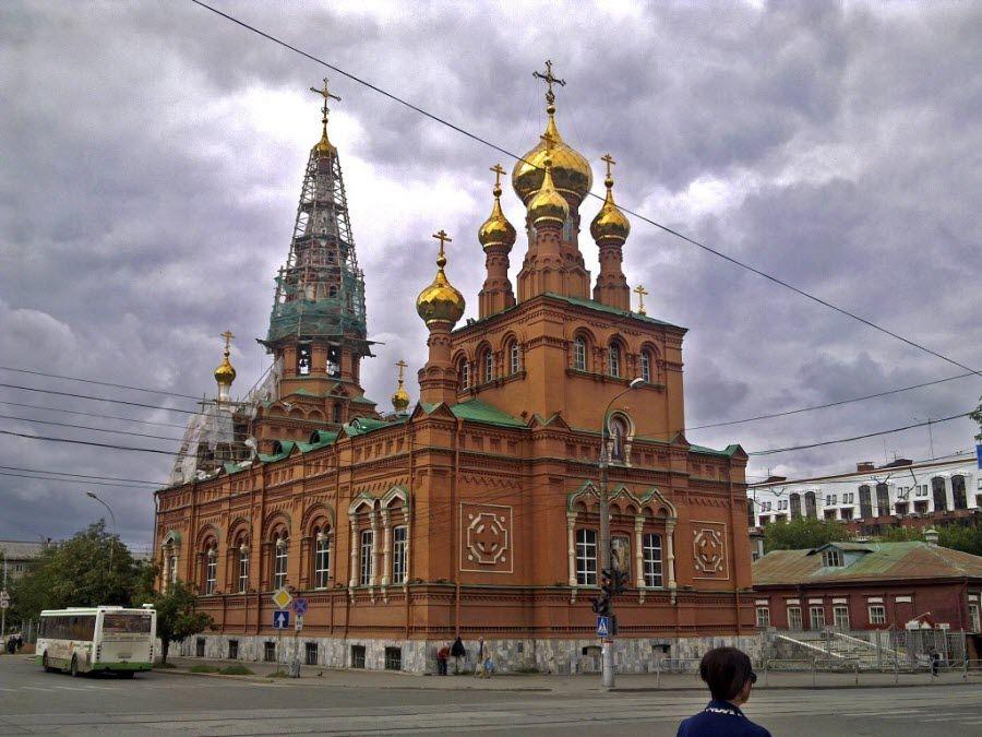 Вознесенско-Феодосиевская церковь в Перми фотография