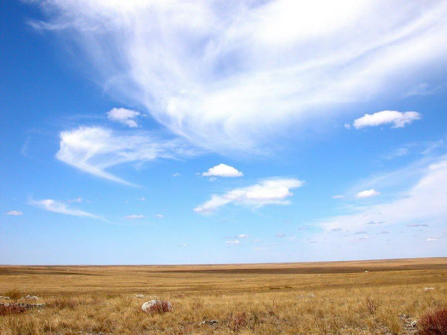 Ащисайская степь в Оренбургском заповеднике фото