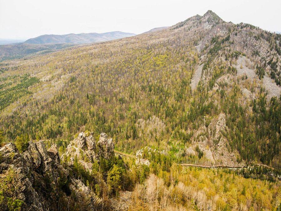 Фотография Зубов Шурале на Айгирских скалах