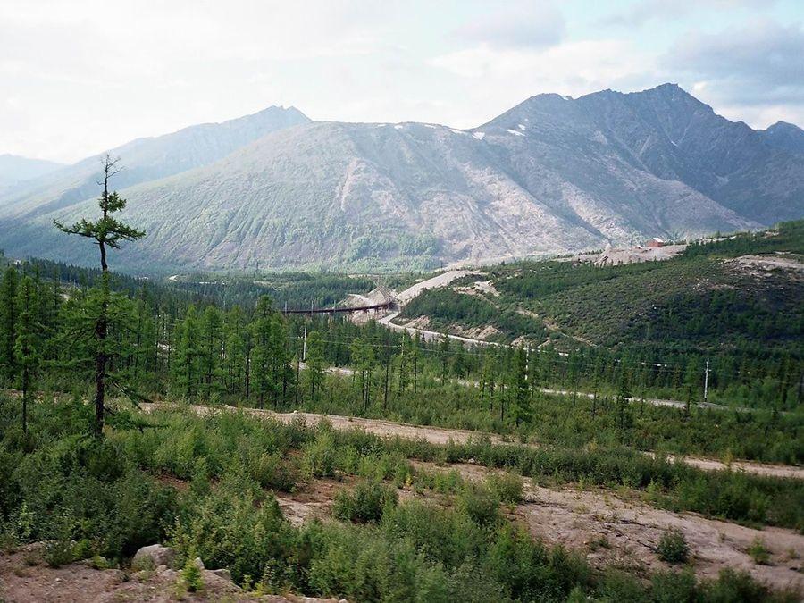 Фотография Байкало-Амурской магистрали