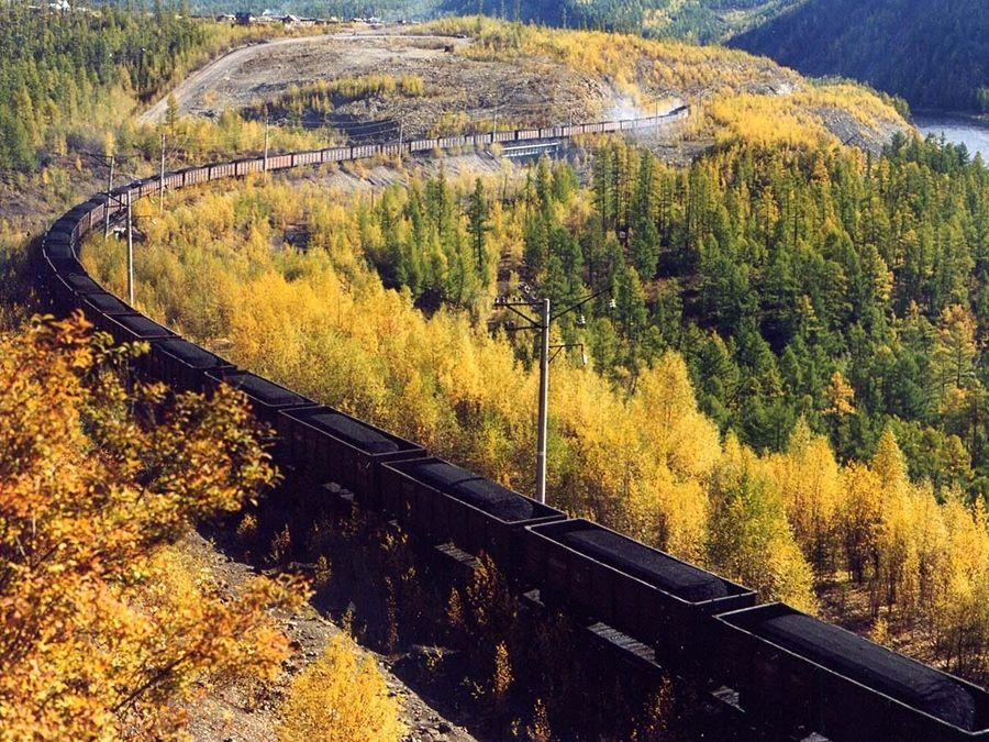Байкало-Амурская магистраль фото Бурятии