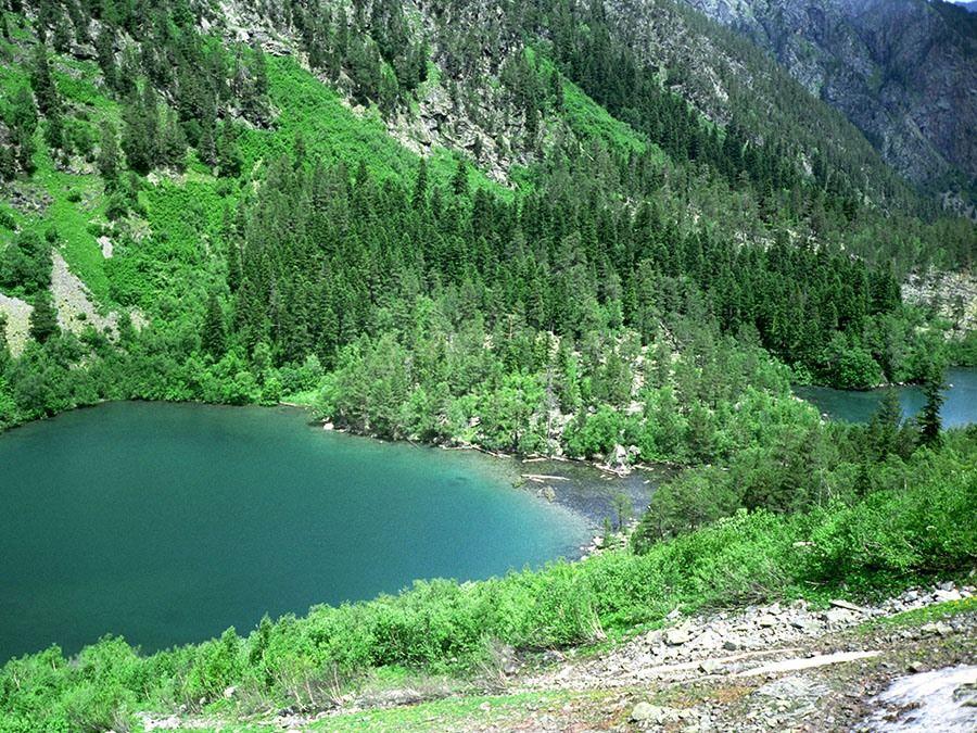 Фотография Бадукских озер