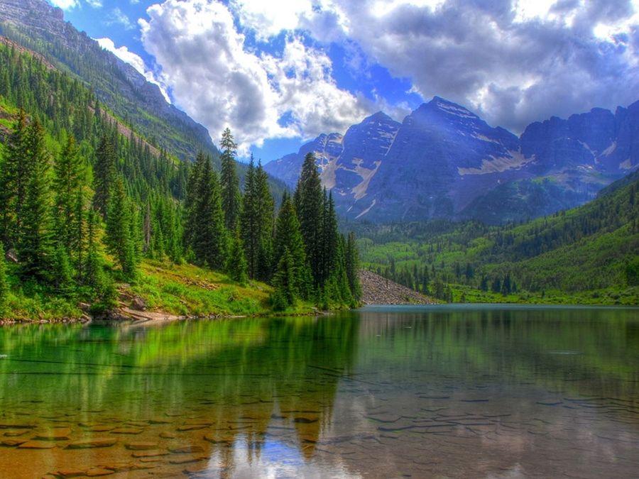 Фотография озера Байкал летом