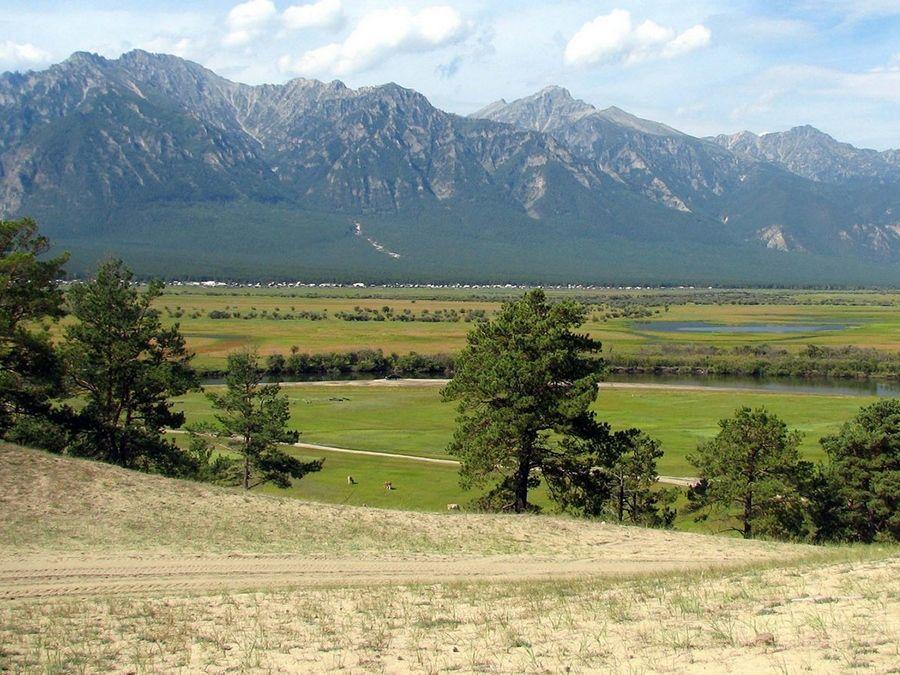 Фотография Баргузинской долины