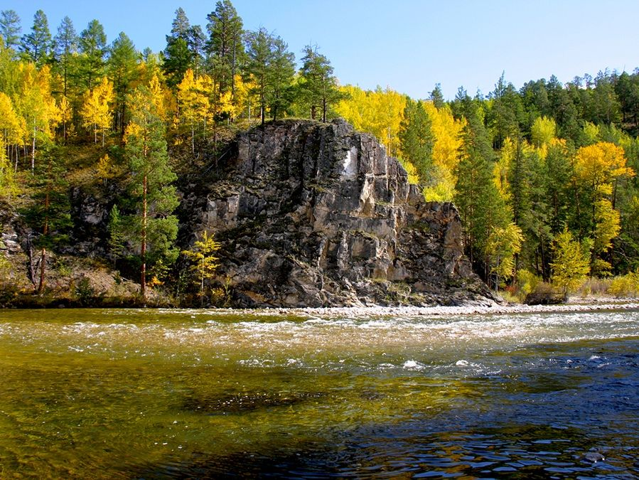 Фотография долины реки Баргузин