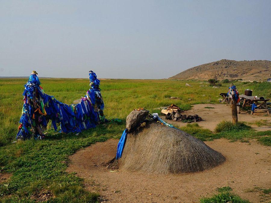 Фотография Бык-камня в Баргузинской долине