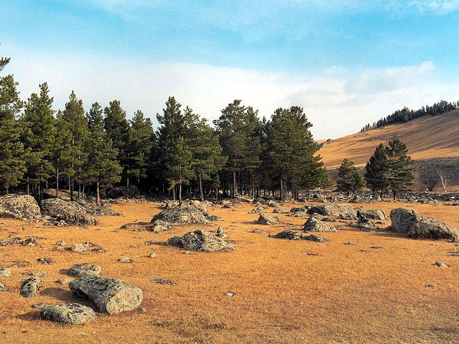 Ининский сад камней фото Баргузинской долины