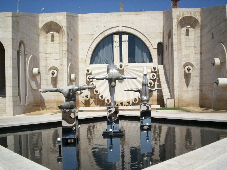 Фото красивых скульптур Каскада