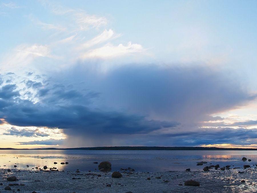 Фотография Белого моря в Карелии