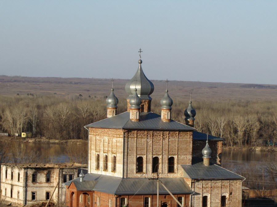 Фото Вознесенского монастыря в Воронежской области