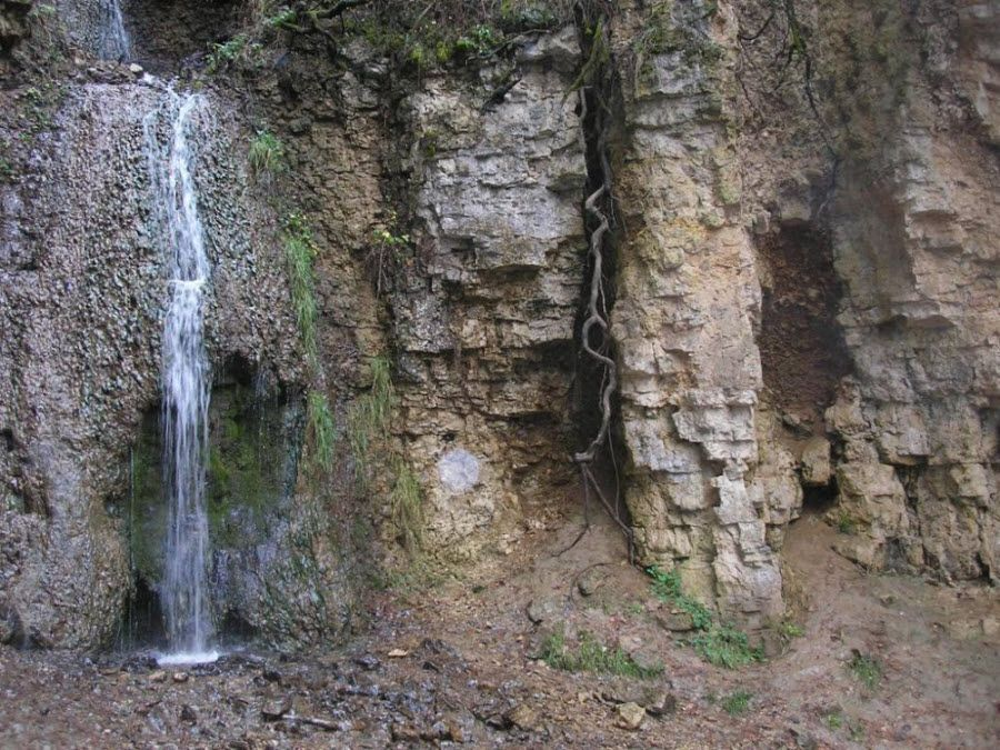 Береснятский водопад в Кировской области фото