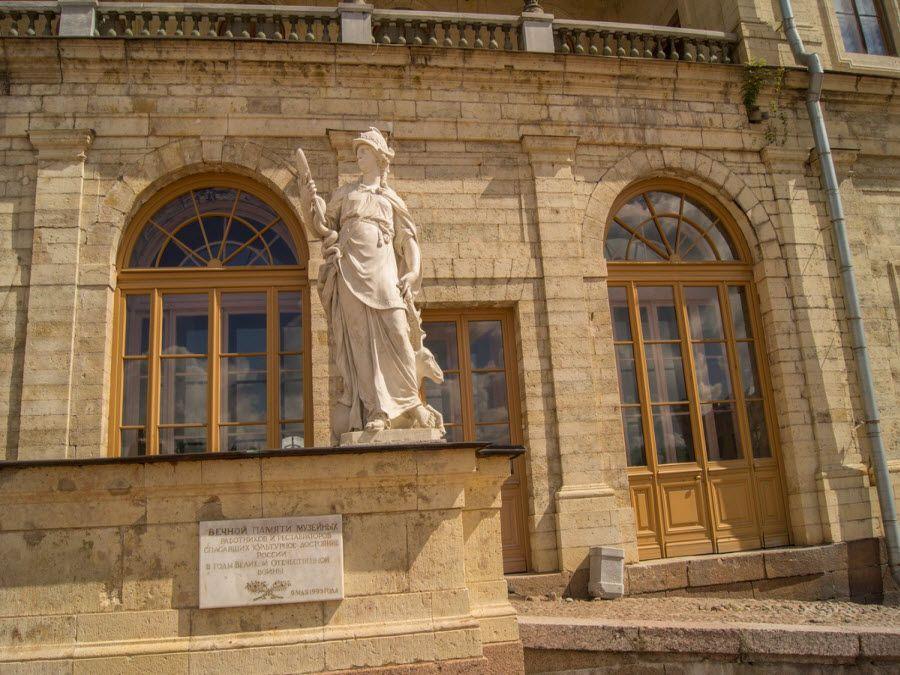 Фото архитектуры Большого Гатчинского дворца