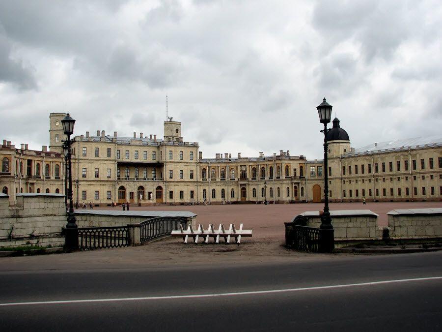 Большой Гатчинский дворец фото