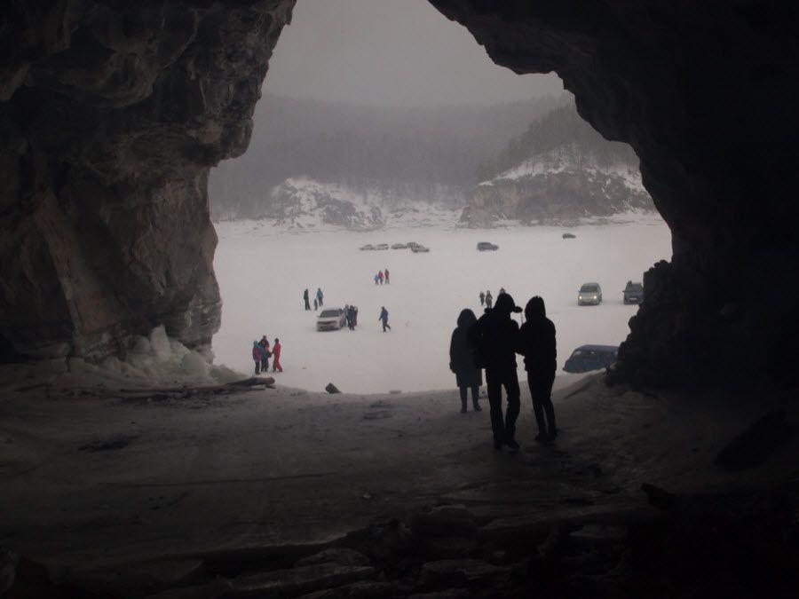 Фото одной из Бирюсинских пещер