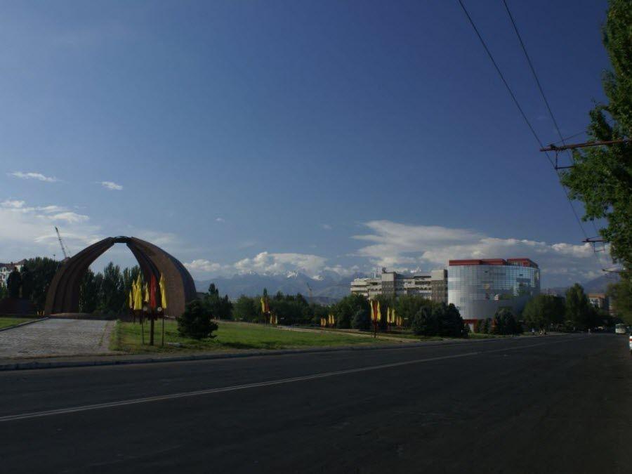 Фото красивого города Бишкека