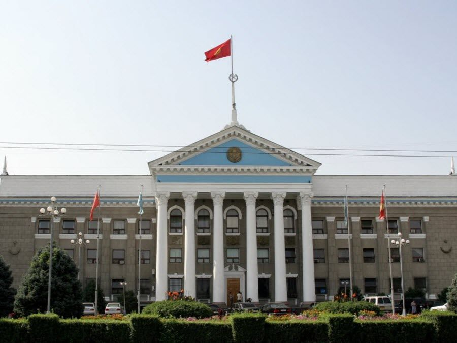 Фото архитектура зданий города Бишкек