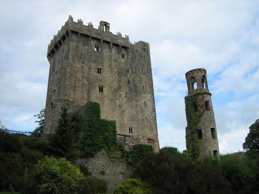 Фотография замка Бларни в Ирландии
