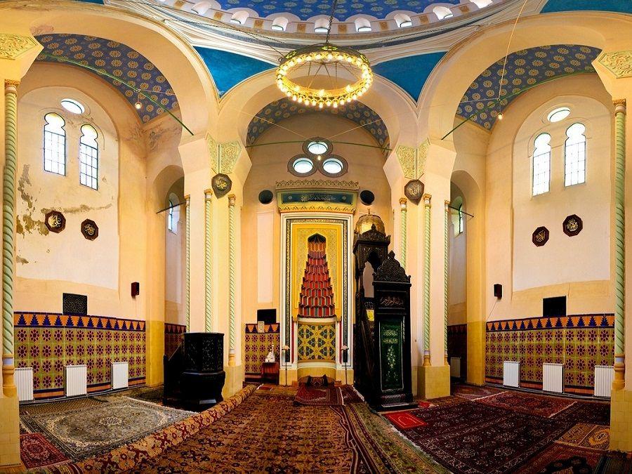 Фото молитвенного зала Голубой Мечети
