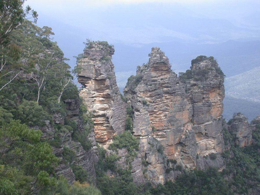 Национальный парк Голубые горы Австралия фото