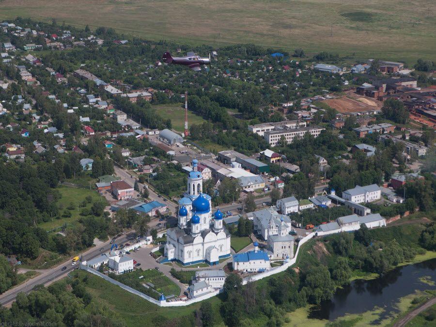 Панорама Боголюбского монастыря фото