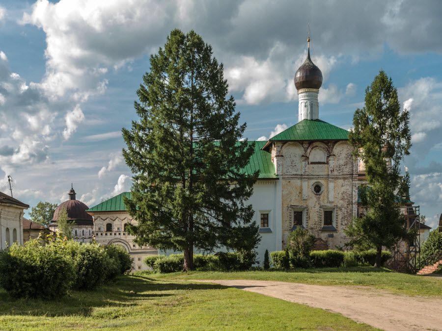 Борисоглебский монастырь в Ярославской области фото