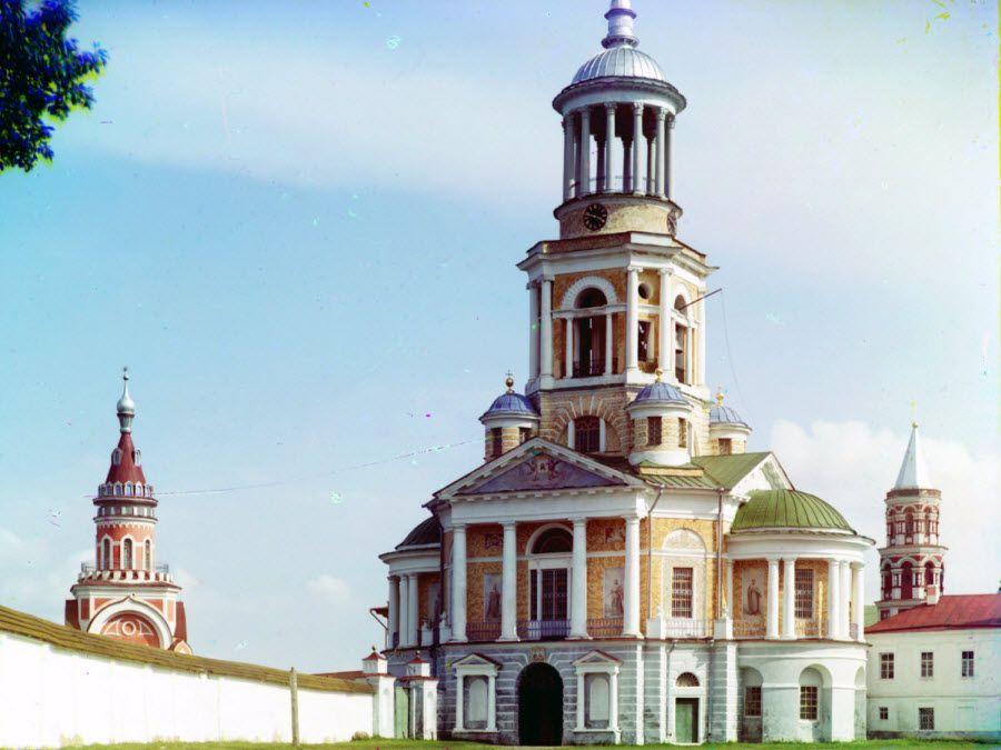 Фото храма Борисоглебского монастыря
