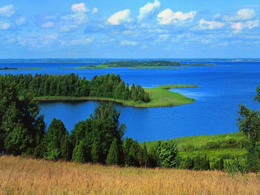 Фото Браславских озер в Беларуси