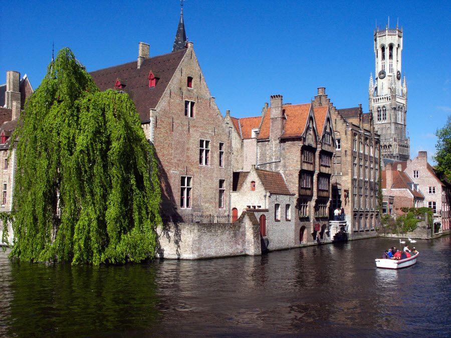 Фото города Брюгге в Бельгии