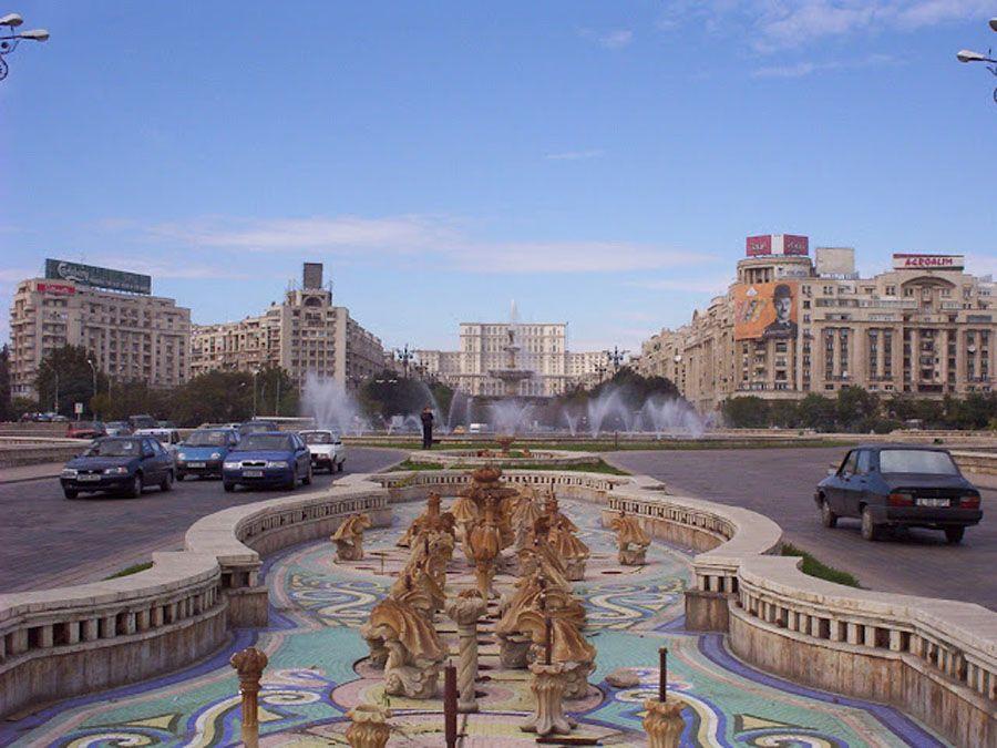 Город Бухарест Фото