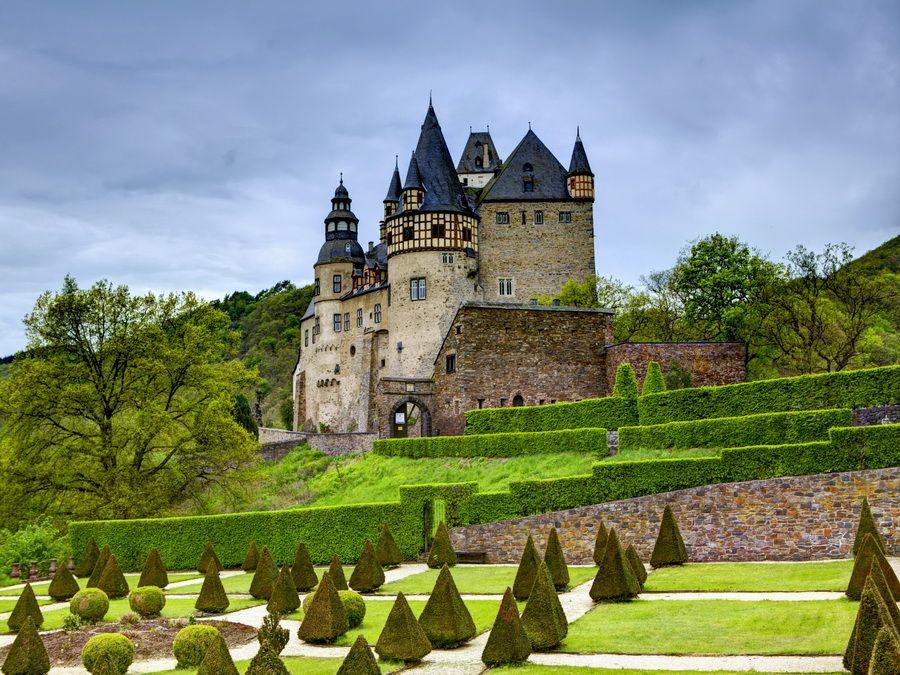 Фотография замка Бурштейн в Германии