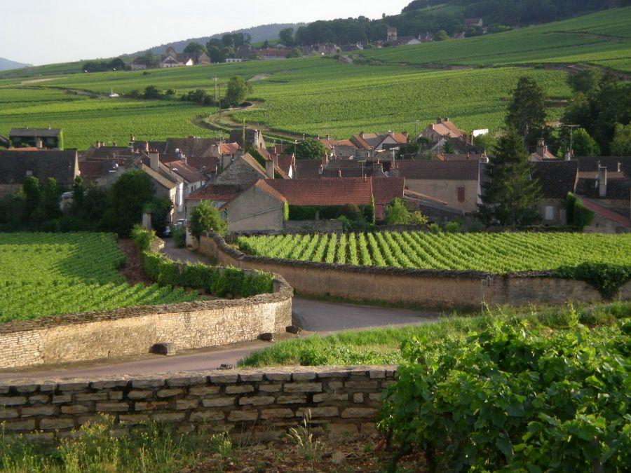 Фотография пейзажа Бургундии Франция