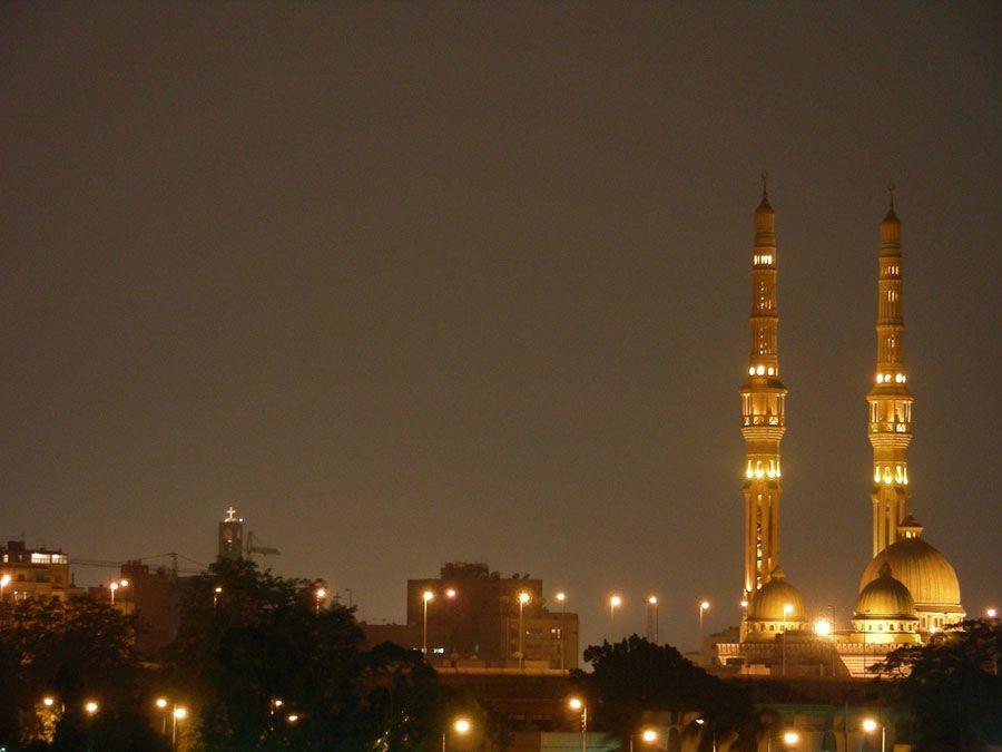 Фотография города Каира в Египте