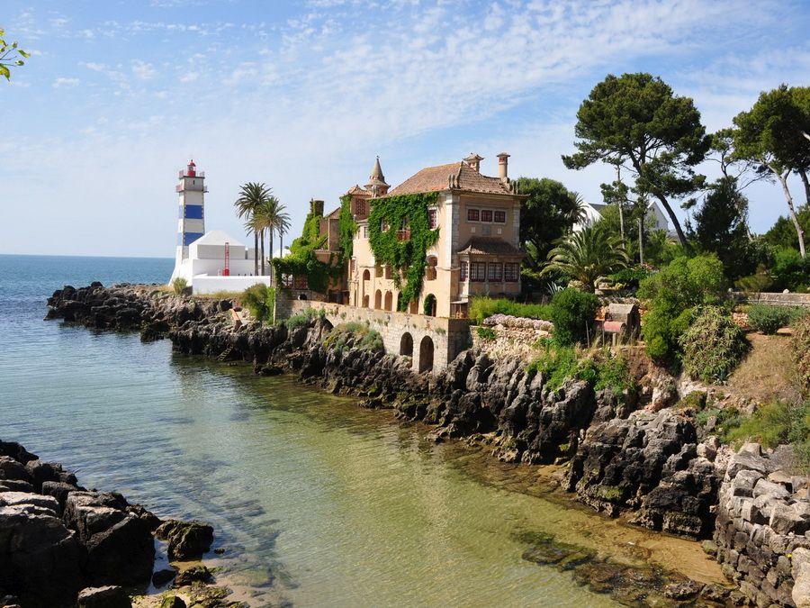 Курорт Кашкайш в Португалии фотография