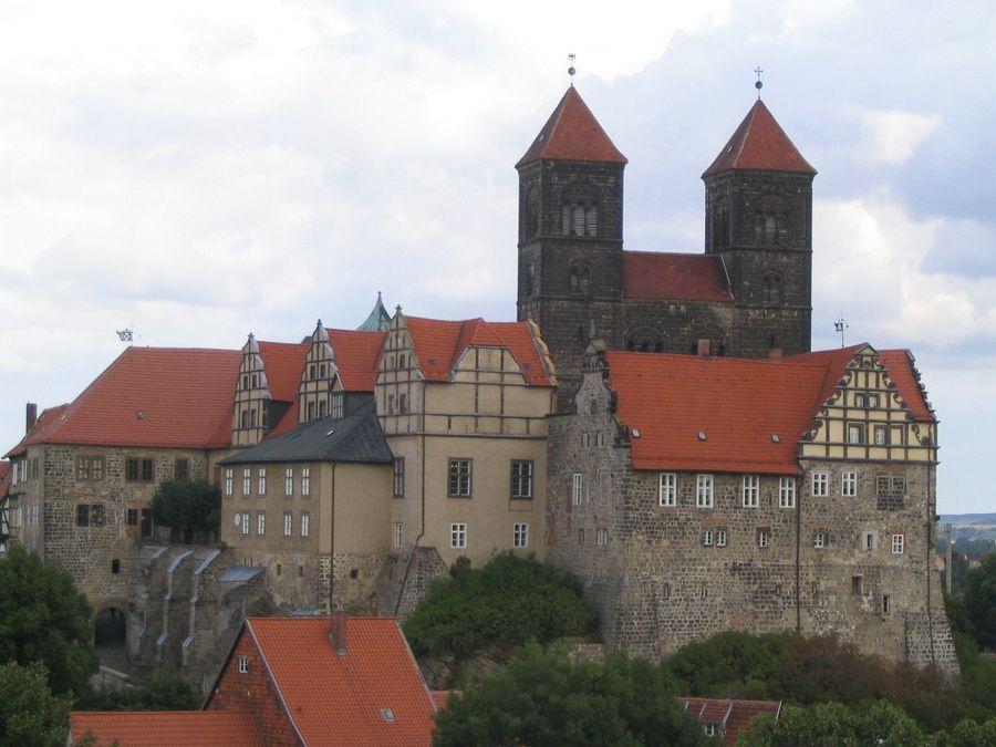 Фотография замка Шлоссберг в Австрии