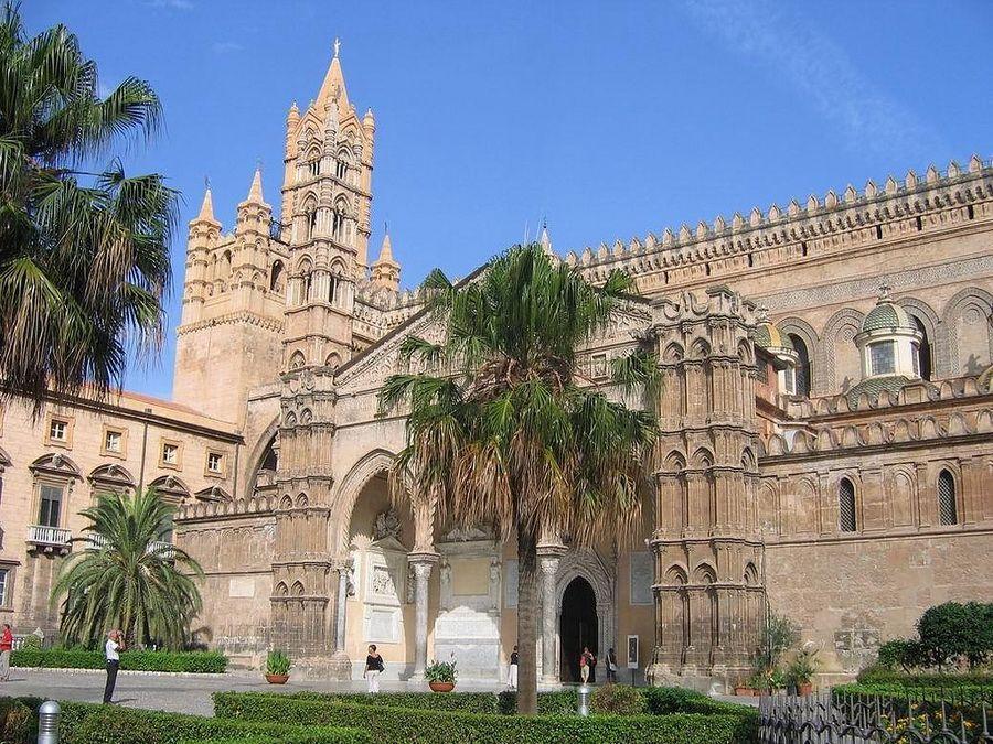 Фото Кафедрального собора в Палермо