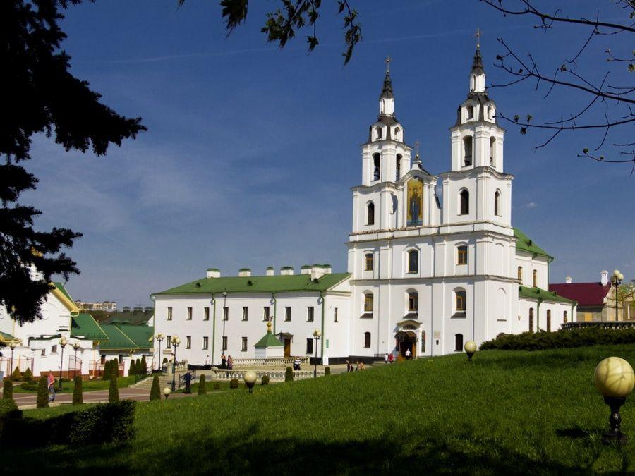 Кафедральный собор Сошествия Святого духа фотографии Минска