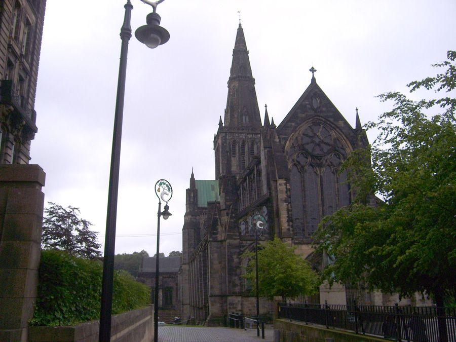 Кафедральный собор Св. Мунго в Глазго фото
