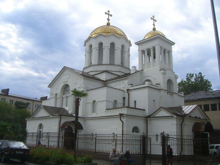 Фотография Благовещенского собора в Сухуми