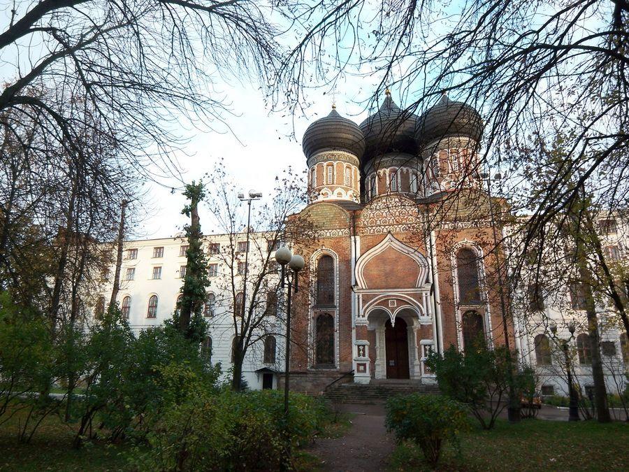 Фото собора Покрова Божьей Матери в Измайлово